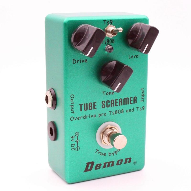 Mosky demônio ts808 tubo screamer overdrive pro pedal efeito guitarra elétrica do vintage
