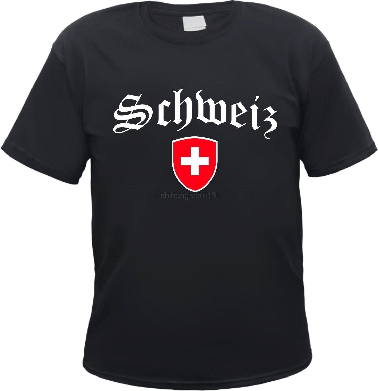 Switzerland T-Shirt Emblem Zurich Bern Luzern Uri Schwyz Obwalden Basel