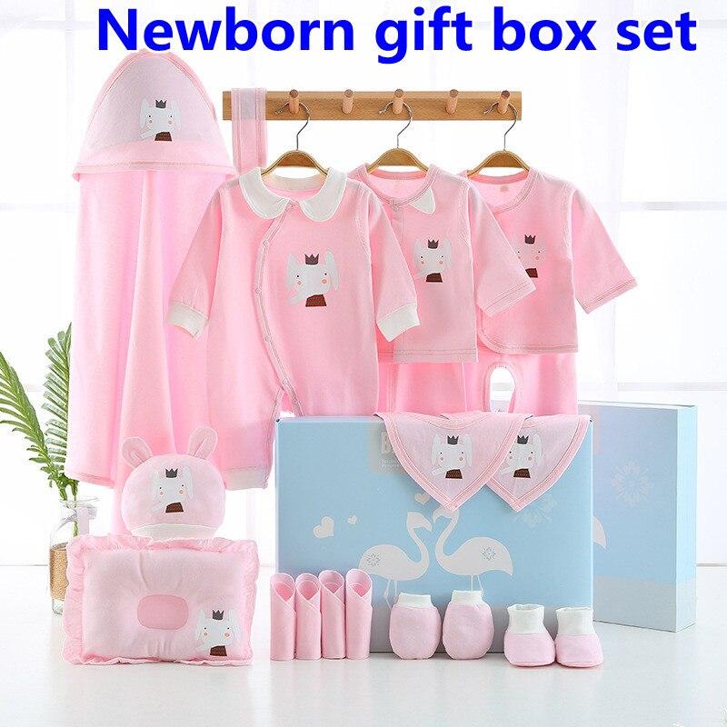 19 قطعة الصيف القطن الوليد ملابس الطفل لينة مريحة تنفس للجنسين الاطفال الملابس بدون صندوق XB06
