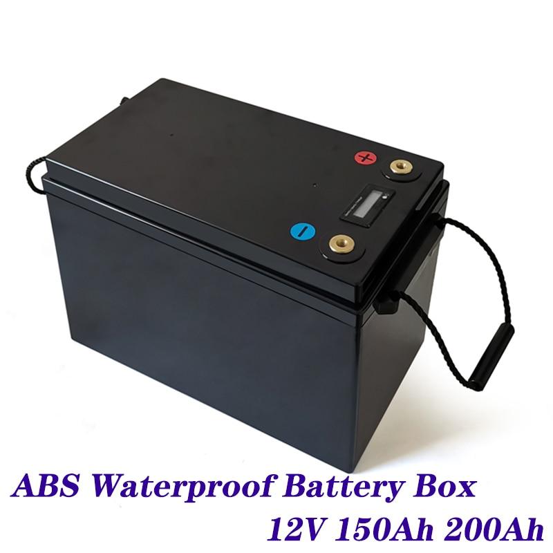 صندوق بطارية Lifepo4 12v 24V 48V 100ah 120ah 200ah 280ah Lifepo4 Batteri صندوق بلاستيكي Rv الخلايا الشمسية مربع Diy Lifepo4 Batteri حالة