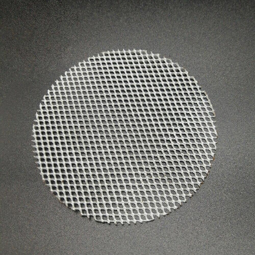 Metal portátil filtro de tubulação tabaco apoio rede refino prático multifuncional tela fumaça gaze fumar acessórios