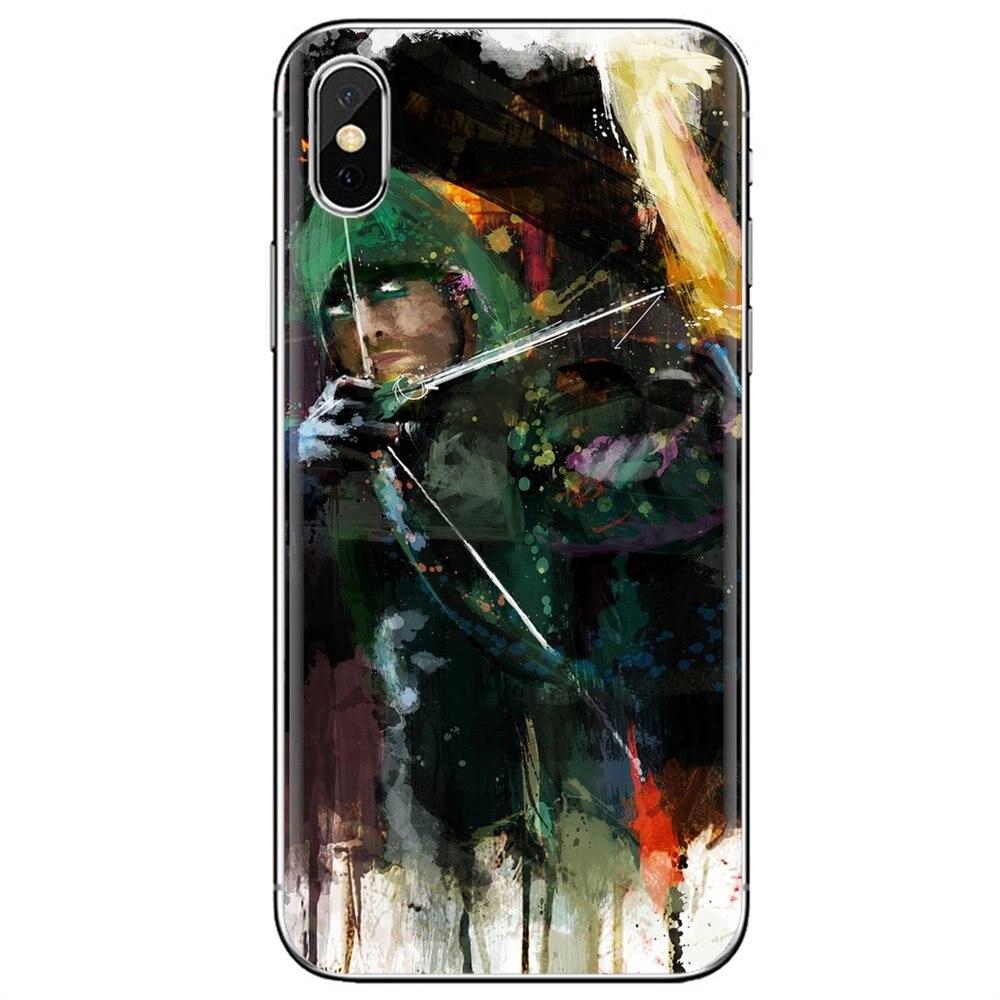 Carcasa de silicona para teléfono móvil cubierta abstracta arquero flecha arte para Samsung Galaxy A10 A30 A40 A50 A60 A70 S6 Active Note Edge