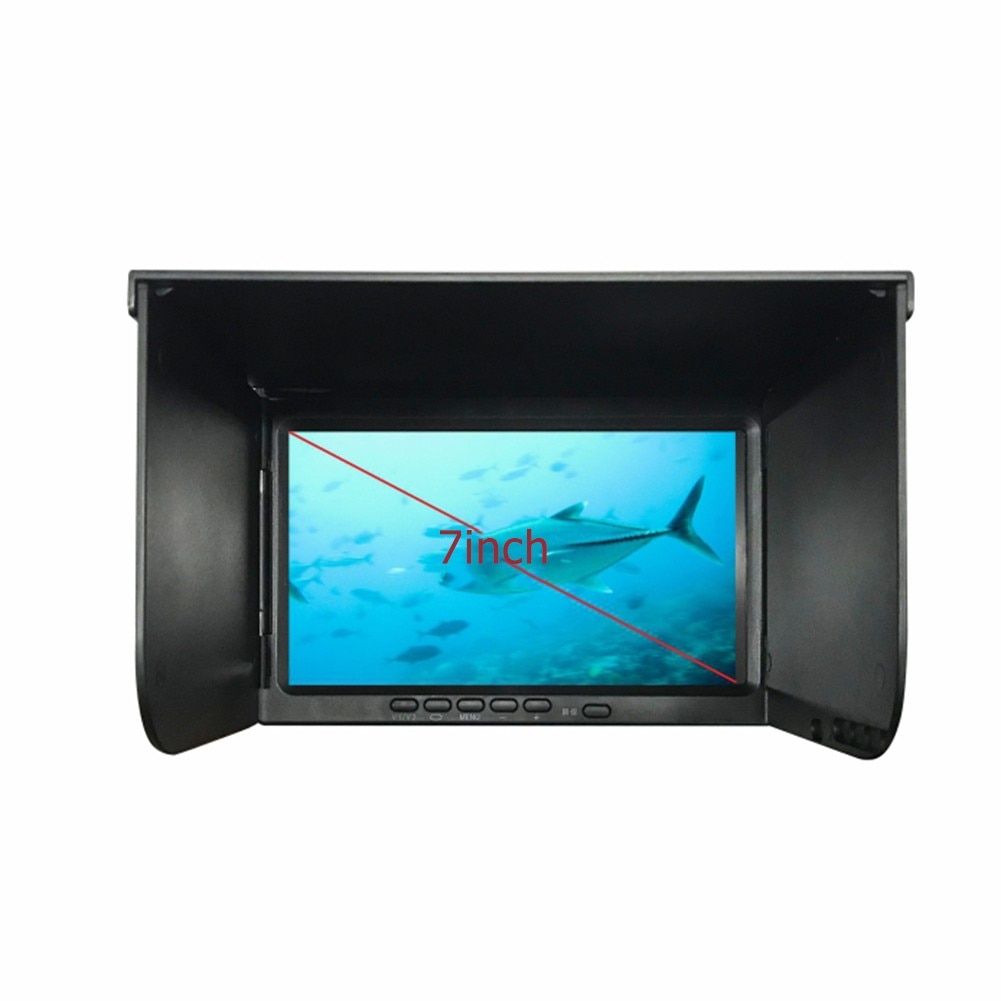 High-Definition Underwater Fish Finder 180° Fishing Camera Set 7 Inch Display 30 Meter Cable Holder With Storage Box Pesca Iscas enlarge