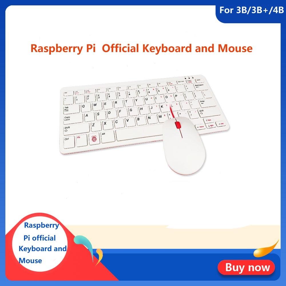 Raspberry Pi 4 soporte oficial para teclado y ratón RPI 4 Modelo B RPI 3 3B 3B +