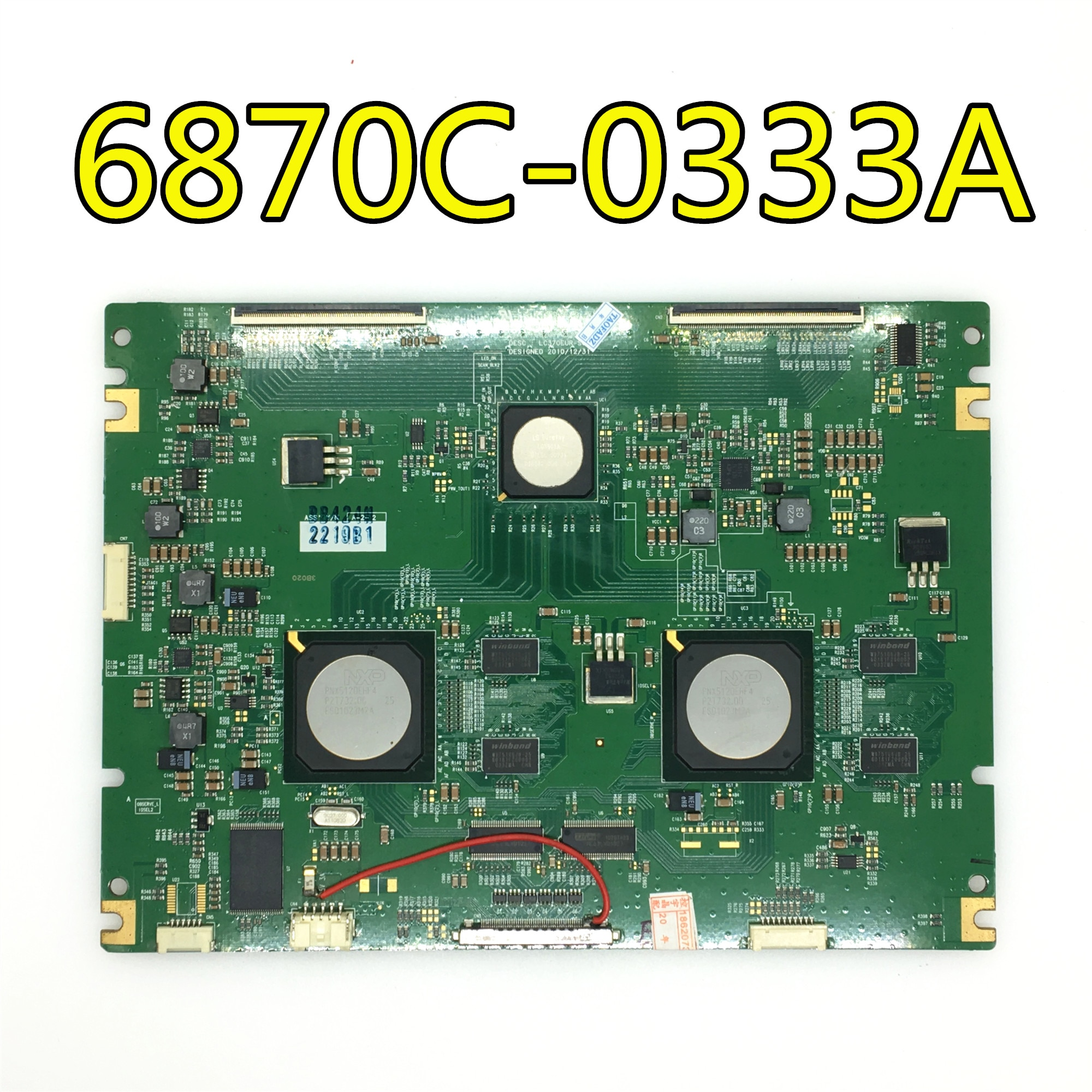 original 100% test for LG 6870C-0333A LC370EUR-SCA1 logic board