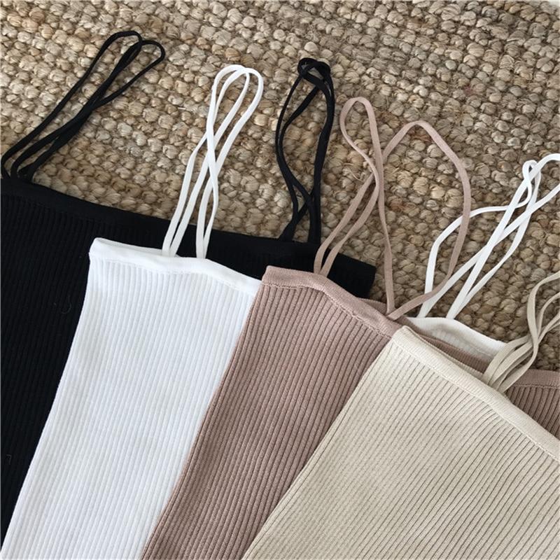 Hcaf078ca13814655942fa9212de0f3e0I - Summer Korean Sleeveless Basic Solid Camisole