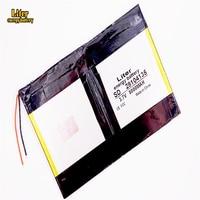 Tablet PC battery capacity 28104135 3.7V 5000mah 30105135 Universal Li-ion battery for tablet pc 8inch 9inch 10inch