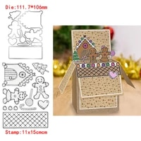 cute little people lollipop house transparent clear silicone stamp dies for diy scrapbookingphoto album decor card making