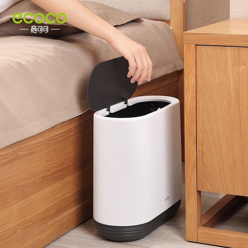 Multifunctional Trash Can Home Storage Ashcan Ashbin Bucket Accessories Lid Garbage Bin Nordic Style Living Room Office P003 enlarge