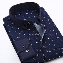 Nouveau chemise à carreaux coréen à manches longues pour hommes Blusas Blouse Camisa Masculina Bluzki Bluzka Xadrez à carreaux Koszula coupe ajustée