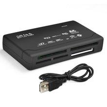 Memory Card Reader Mini 26-In-1 Usb 2.0 High Speed Voor Cf Xd Ms Sdhc Met Led licht Kaartlezer