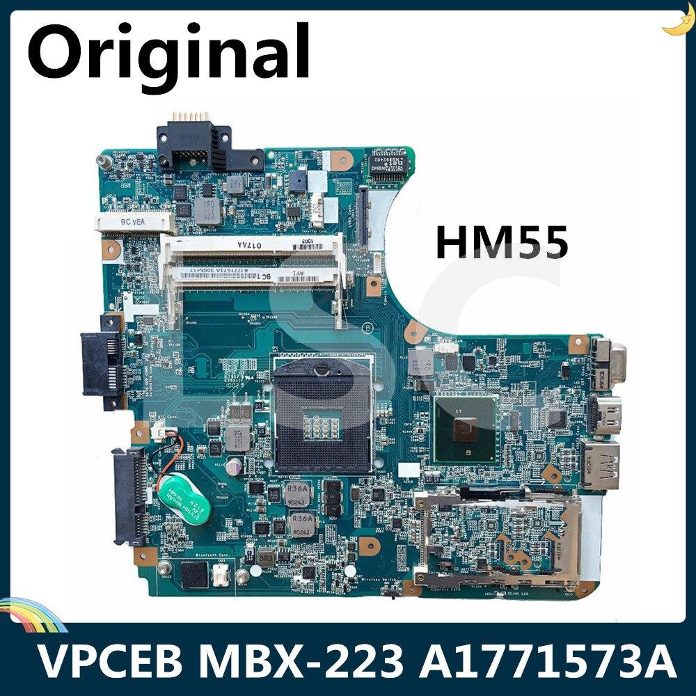 Placa base LSC para ordenador portátil SONY VPCEB Series MBX-223 M960 HM55 DDR3 A1771573A 1P-009CJ01-6011