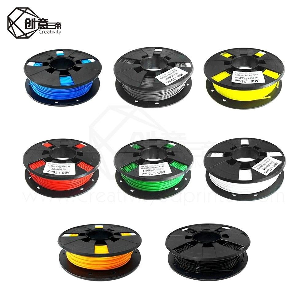 ABS البلاستيك طابعة ثلاثية الأبعاد 1.0 كجم 1.75 مللي متر لوازم خيوط ل RepRap ثلاثية الأبعاد خيوط خيط abs 1.75 impressora ثلاثية الأبعاد filamento PLA