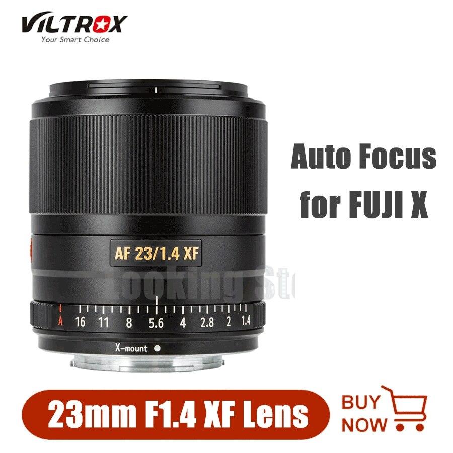 Viltrox AF 23 مللي متر F1.4 XF-جبل عدسة الكاميرا STM التركيز التلقائي عدسات ثابتة ل فوجي فيلم فوجي كاميرا XT30 XA5 XA7 XT2 XT3 XE1 X-Pro1