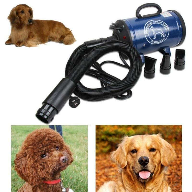 Secador de pelo para mascotas, secador de agua para mascotas, calentador, conducto de aire, secador de pelo, suministros para mascotas, adecuado para perros grandes y pequeños, artefacto para mascotas
