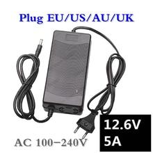 12,6 V 5A зарядное устройство для 18650 Li-ion 3 серии 12V литиевая батарея зарядное устройство EU/US/UK/AU вилка Высокое качество Бесплатная доставка