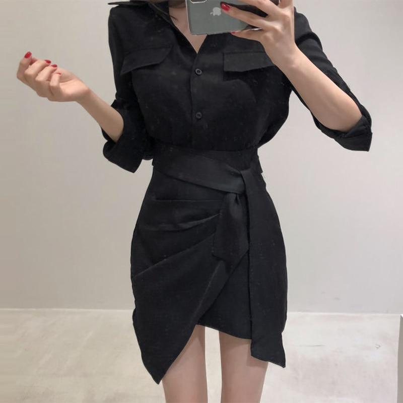 Nueva moda de señora de la Oficina de 2 piezas conjunto formal de camisa slim falda traje de 2 piezas conjunto de ropa de trabajo de las mujeres conjunto de
