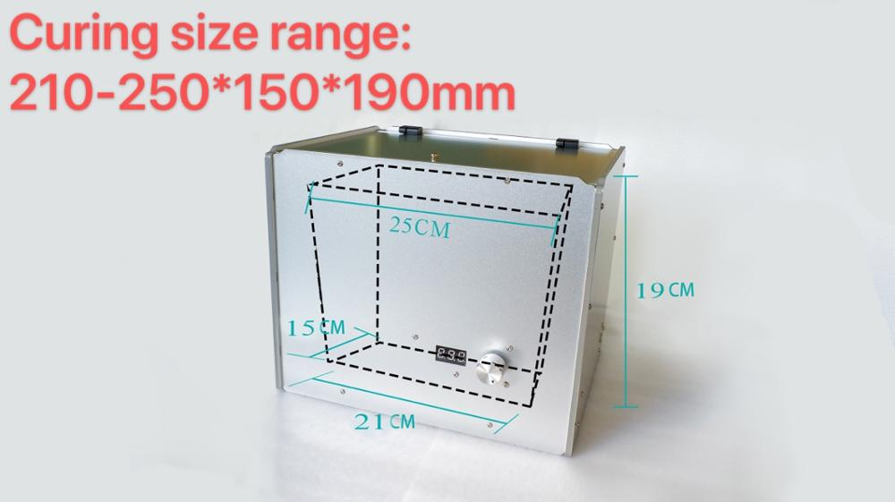 Simple UV lamp curing box: Anycubic 3D printer curing machine, suitable for 3D printer curing models of UV resin curing недорого