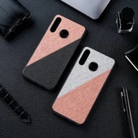 silicon cloth texture case for huawei huawei p30 lite p20 pro p10 plus p8 p9 lite 2017 y9 y7 y5 prime y6 2019 2018 case covers