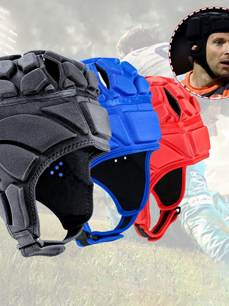 Регулируемые мягкие мужские и женские жесткие футбольные шлемы, головные уборы, кепки для хоккея, бейсбольные кепки с подкладкой для скейтб...