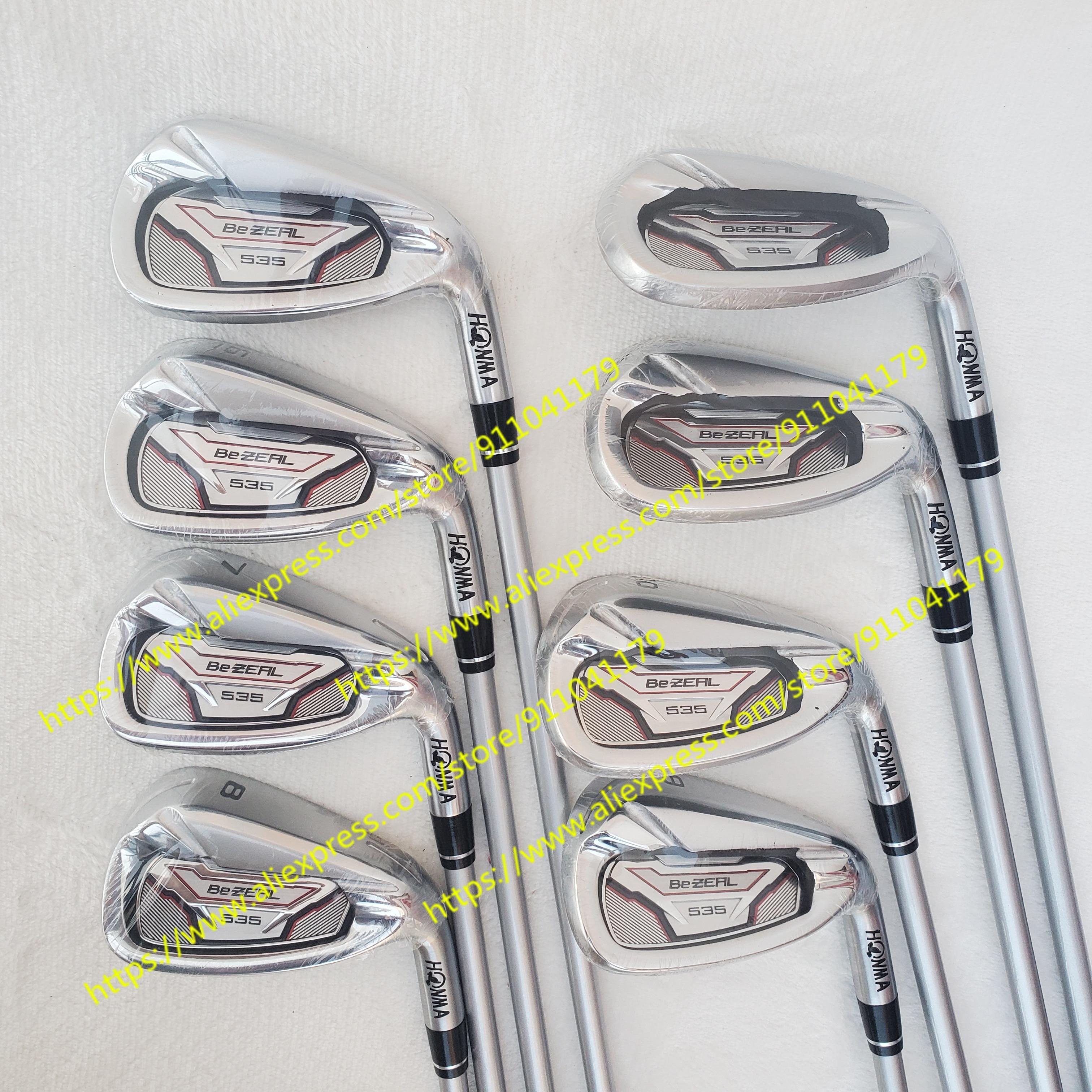 2021 Men Golf irons HONMA BEZEAL 535 Golf irons(Titanium strike surface)HONMA Golf Club