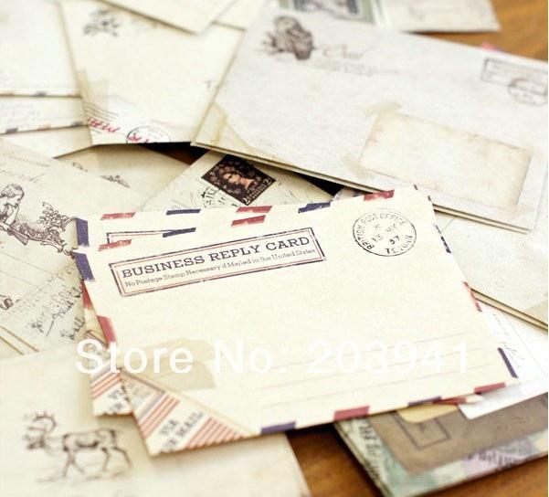 12pcs/lot 100*80mm restoring ancient ways free creation envelope Stationery gift недорого