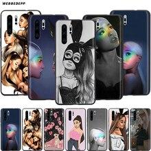 Webbedepp Ariana Grande art Case for Huawei P8 P9 P10 P20 P30 Lite Pro P Smart Z 2019 2019 Mini