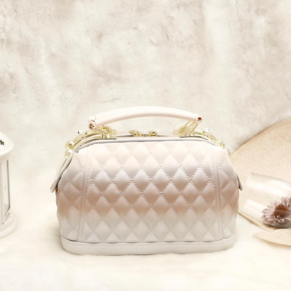 GW 2020, bolsa de gelatina de PVC, nuevo diseño, bolso de mano para mujer, bolso de mano de alta calidad