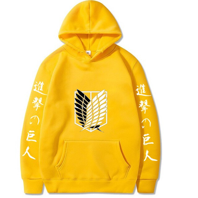 NEW Attack on Titan Hip Hop Hoodie 8
