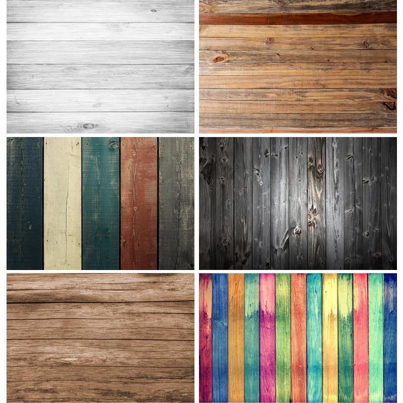 Vinyl Custom Wood Board Texture Photography Background Old Wooden Planks Floor Photo Backdrops Studio Props 201118REP- 01