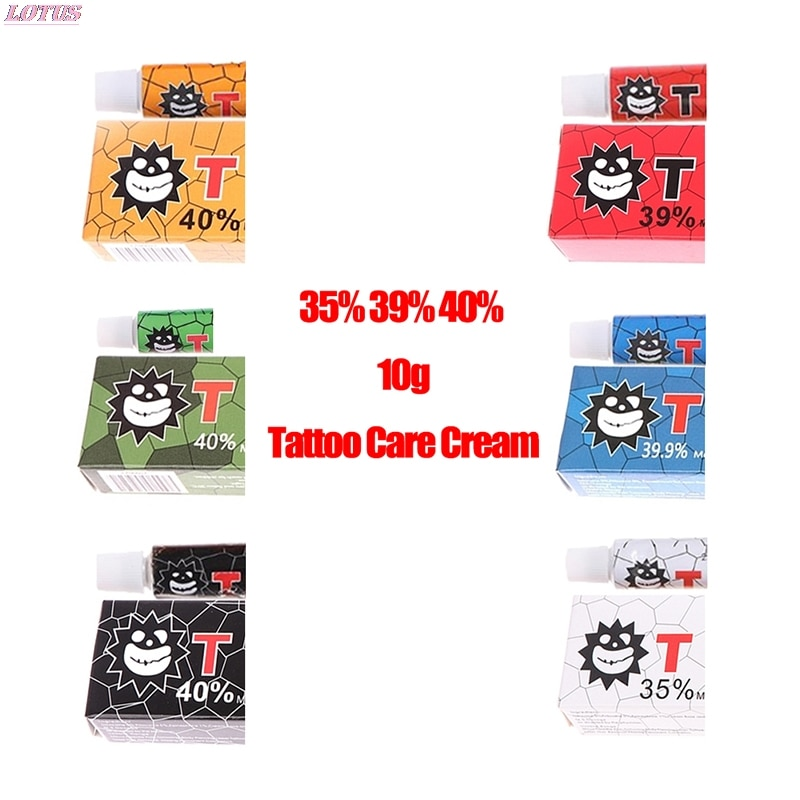 Tattoo Care Cream Befor  for Operation Piercing Semi Permanent Makeup Eyebrow Lip Body tktx  Tattoo