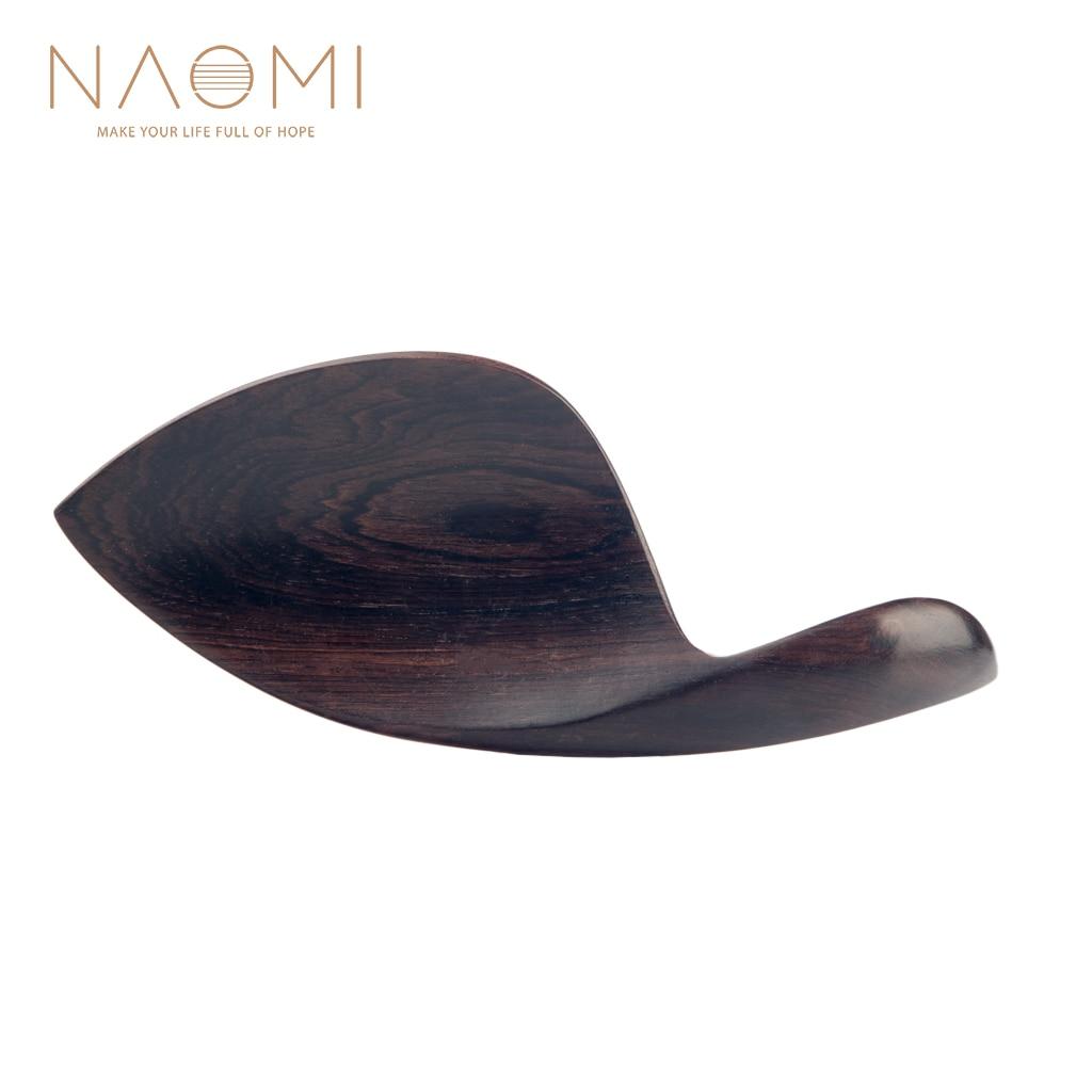 NAOMI Chinrest 4/4 Ebony Скрипка для подбородка для 4/4 Скрипка для подбородка аксессуары новые