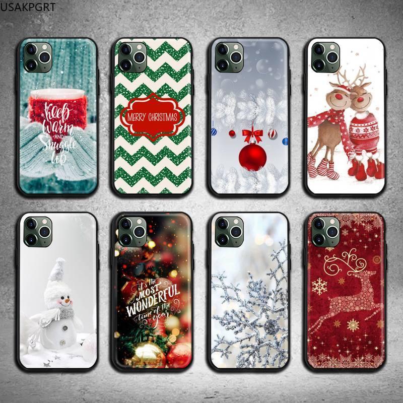 Чехол для телефона Have yourself Merry Christmas для iphone 12 pro max 11 pro XS MAX 8 7 6 6S Plus X 5S SE 2020 XR