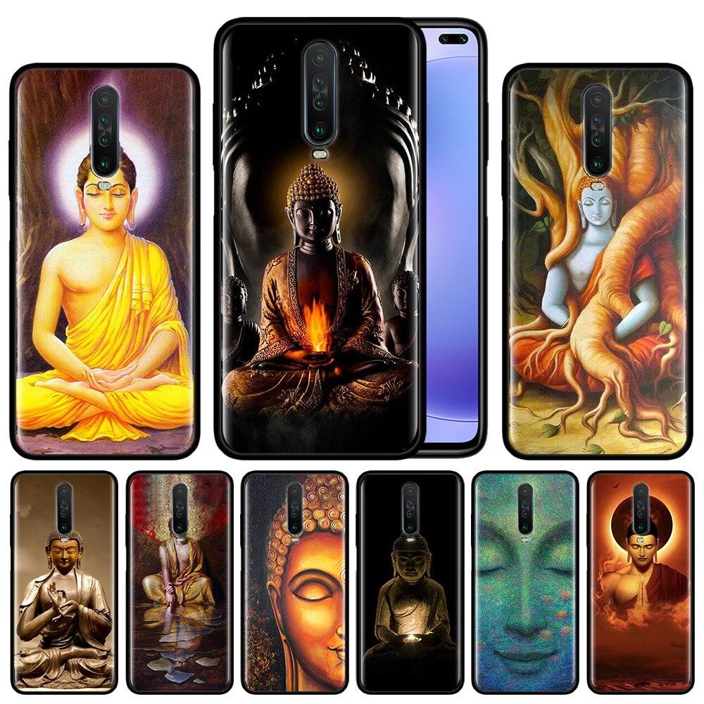 El Buda Gautama Buda para xiaomi Redmi Note 8T 8 7 K20 K30 5G s 7s 6 Pro 6A negro de silicona funda protectora de teléfono