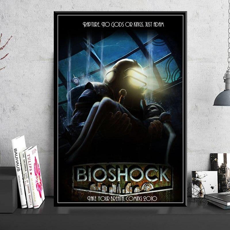 Pósteres e impresiones Bioshock Rapture Video de juego para pared arte Cuadro lienzo pintura decoración nórdica hogar Decoración