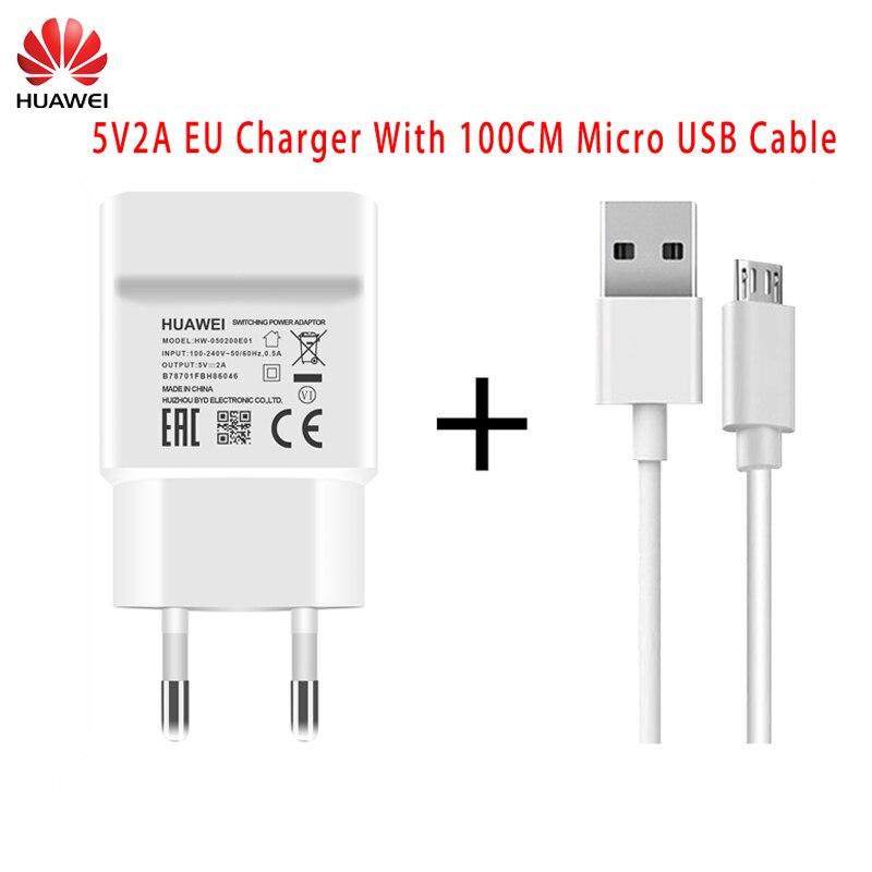 Huawei-Adaptador de cargador de pared tipo C para móvil, Cable Original de...