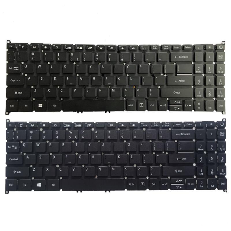 [해외] 미국 노트북 키보드 Acer Aspire 3 A315-42 A315-42G A315-42-R96C A315-54 A315-54G A315-55 프레임 없음
