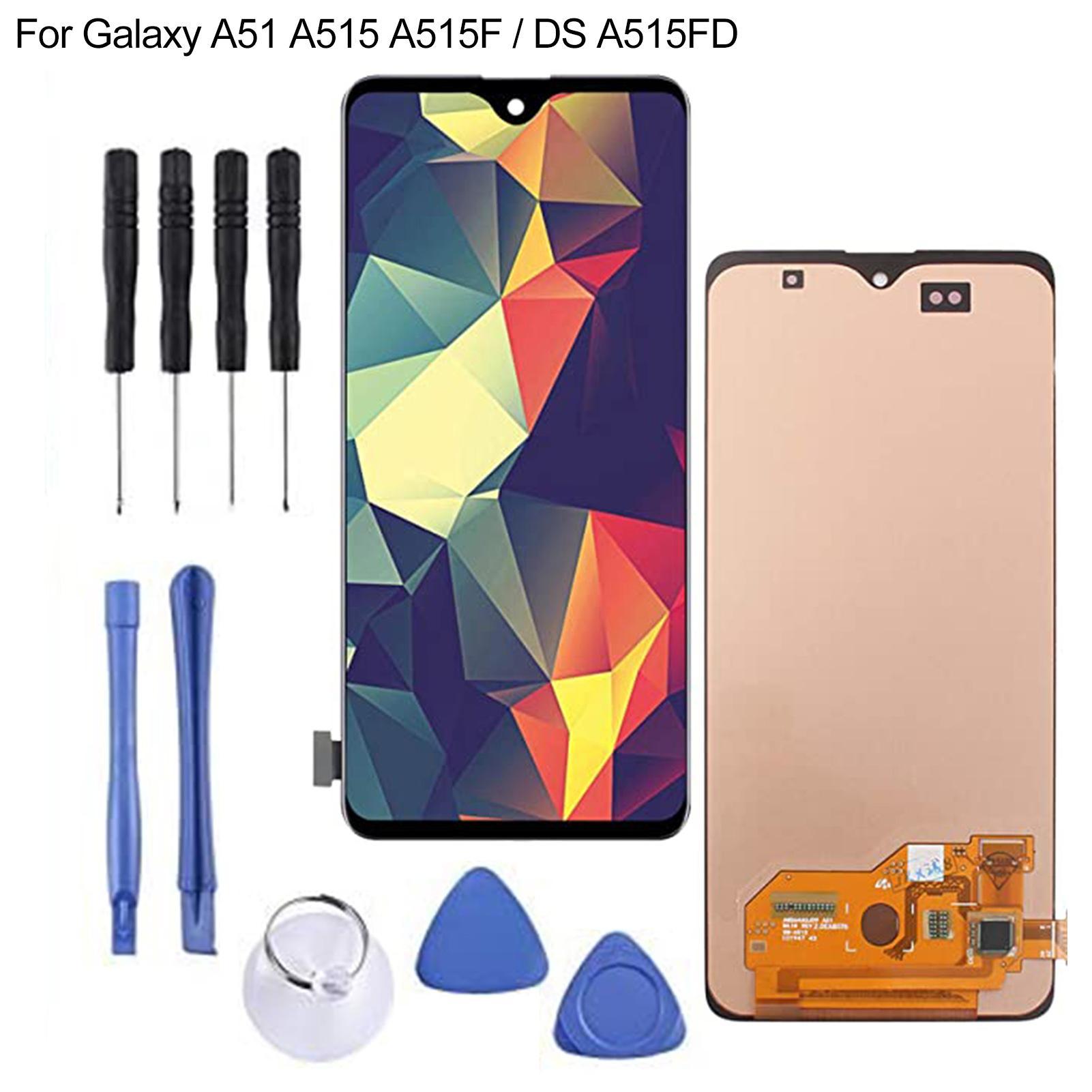 مجموعة أدوات بديلة لمحول الأرقام بشاشة LCD ، لجهاز Samsung Galaxy A51