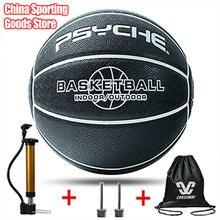 Basket-ball de marque Psyche, élément chinois, basket-ball imprimé Bagua, taille standard 7, matériau absorbant la sueur, basket-ball