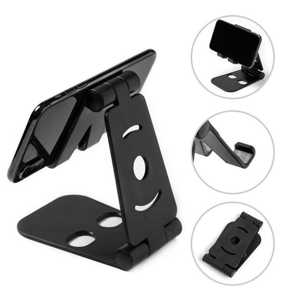 Universal duplo dobrável telefone celular berço tablet suporte de mesa suporte de montagem para telefones celulares dentro de 8 polegada
