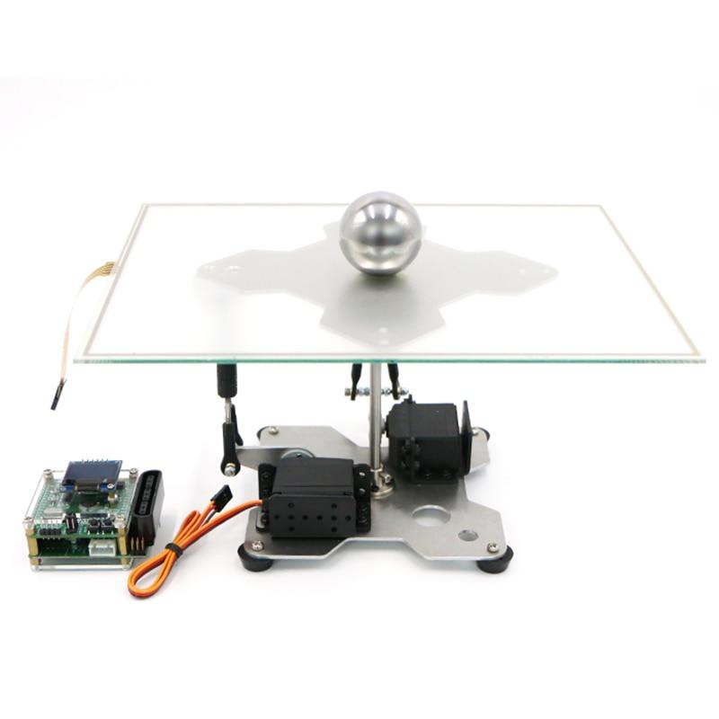 Bola e placa de sistema de controle PID tela Resistiva Open source