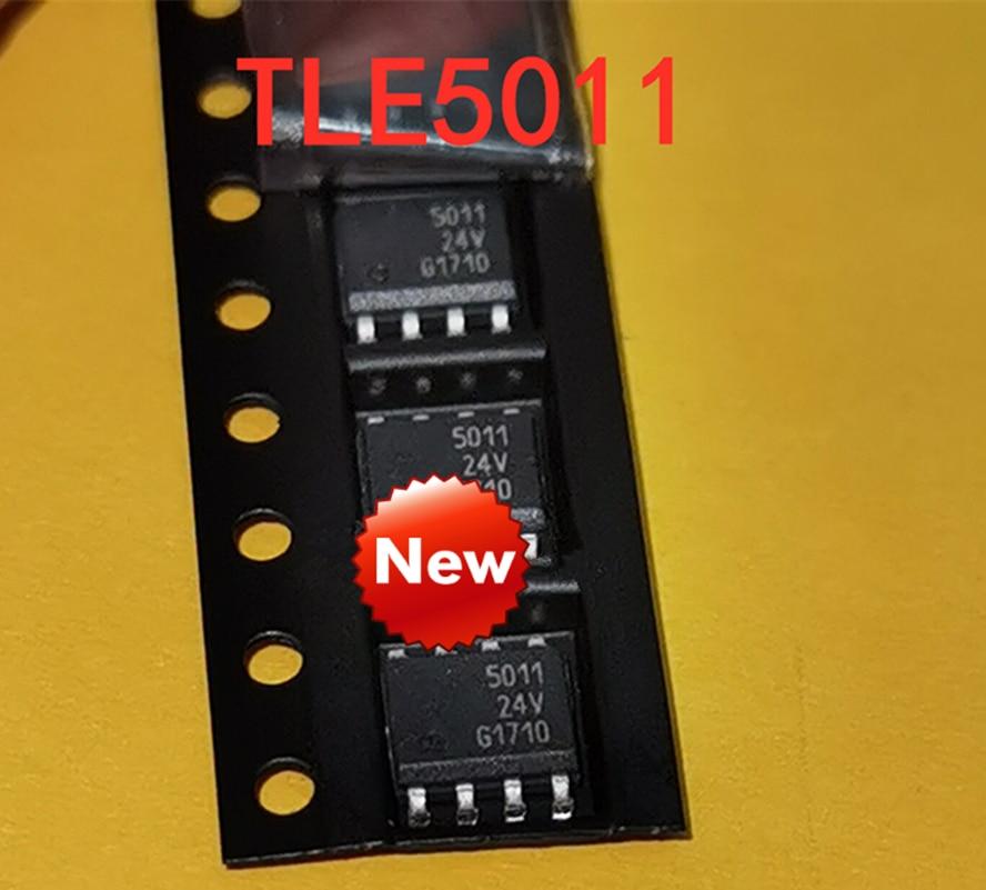 10 قطعة شاشة جديدة من الحرير TLE5011G TLE5011 SOP8 مزودة بمستشعر مغناطيسي عملاق بزاوية 5011