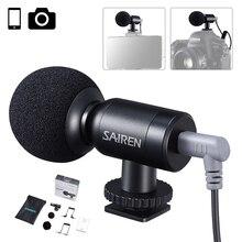 Sairen Nano entretien Microphone Vlog Mini micro enregistrement vocal Studio micro pour iPhone téléphone Android DSLR GoPro 8/7/6/5/4 Insta360