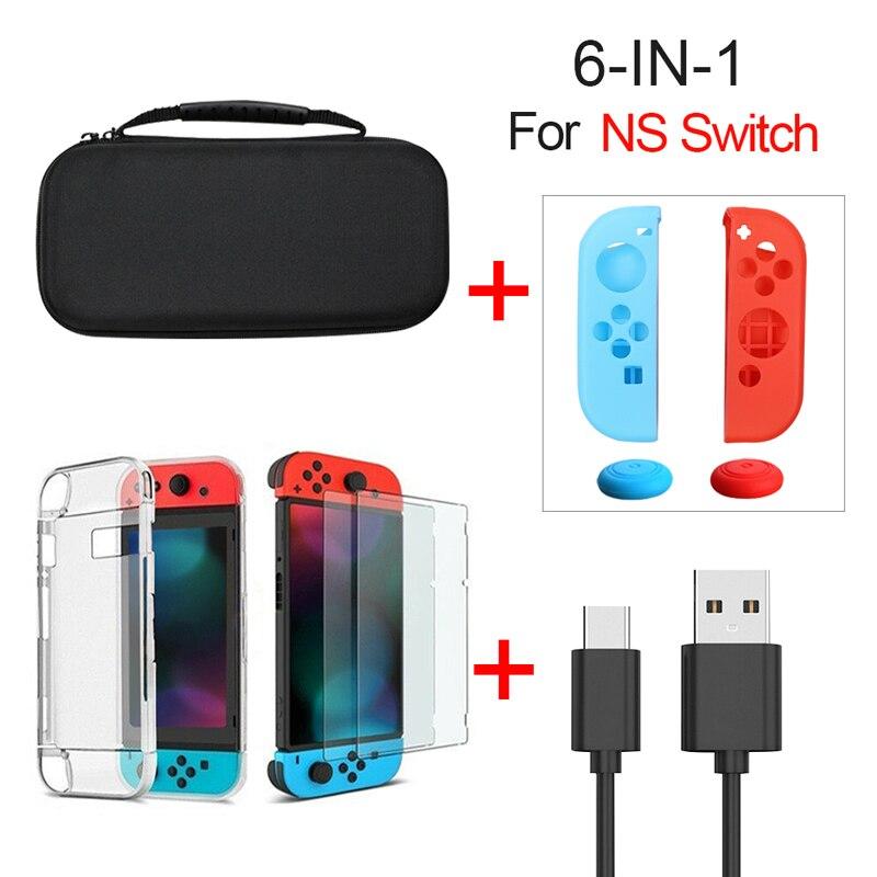 Carcasa dura para Nintendo Switch Console, funda portátil duradera para NS Nintendo Switch Accessories