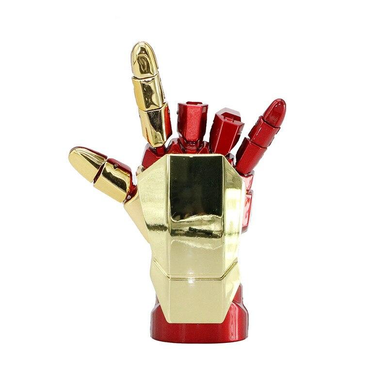 Lápiz de memoria vengadores Iron Man HandHammer, 32GB, 256GB, unidad Flash Usb, 128GB, 4GB, 16GB, 64GB, tarjeta de memoria Flash