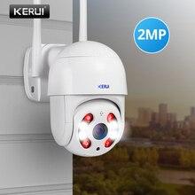 KERUI extérieur étanche sans fil 1080P 2MP PTZ WiFi IP caméra dôme 4X numérique Zoom IR caméra sécurité à domicile CCTV Surveillance