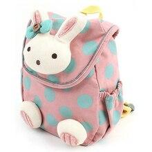 Anti Stray Toddler Kawaii Lovely Rabbit Backpack Softback Mini Schoolbag Childrens Gifts Kindergarten Boy Girl Bags