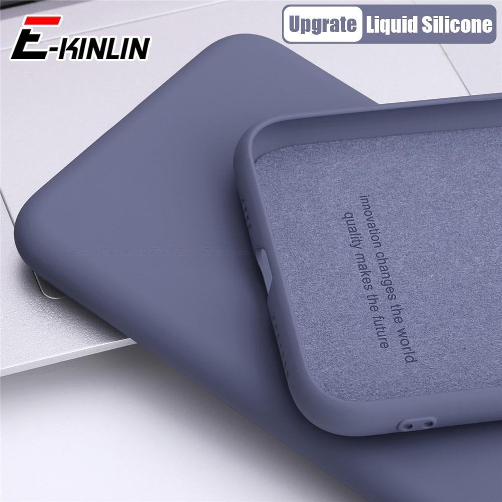 Original Liquid Silicone Phone Case For Oppo R15x R15 R17 RX17 Pro Neo Slim Soft TPU Full Protection Cover