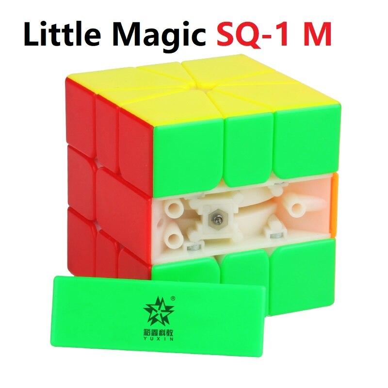 Yuxin Little Magic SQ-1 M Magnetic Shape SQ1 Cubo Magico Puzzle Square-1 Magico Cubes Education Toys for Children Square 1