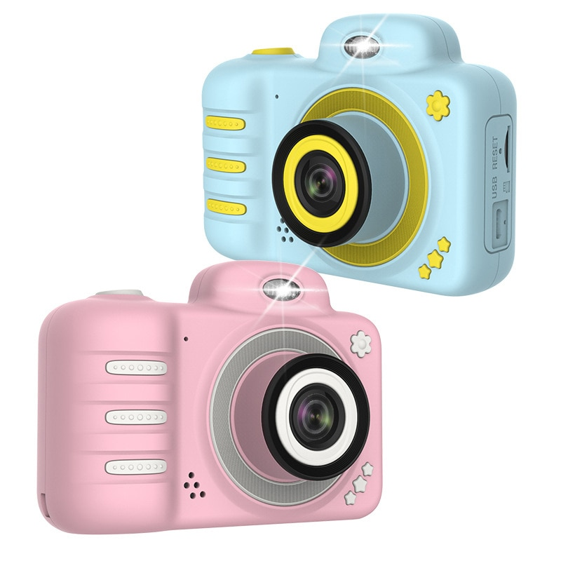 dslr Digital Cameras Dual Lens Children Mini Camera Digital Video Camera 1080P Kids Educational Toys for Children Birthday Gift